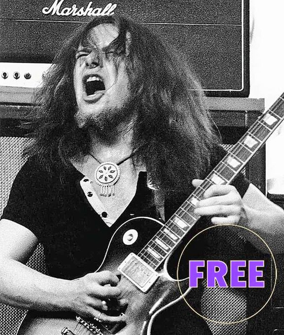 Happy birthday PAUL KOSSOFF (1950 1976). Gone, but not forgotten!   What\s your favorite FREE album?