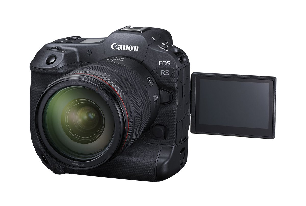 Canon's $5,999 EOS R3 focuses by tracking your eye