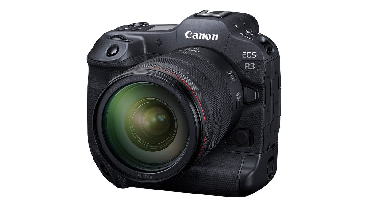 Canon's $6,000 EOS R3 Is Its 'Most Advanced' Full-Frame Mirrorless Cam Ever