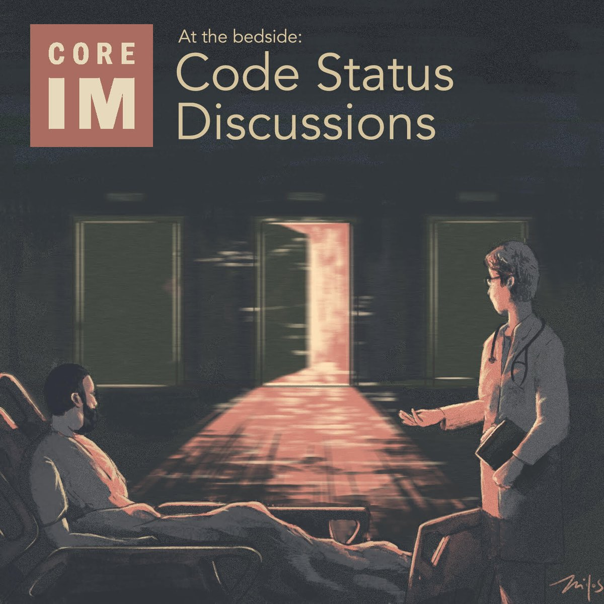 🚨New Episode: Code Status 🚨 A very #practical episode on nuanced ways to navigate something we do everyday! 1/ Listen 🎧: link.chtbl.com/CodeStatus