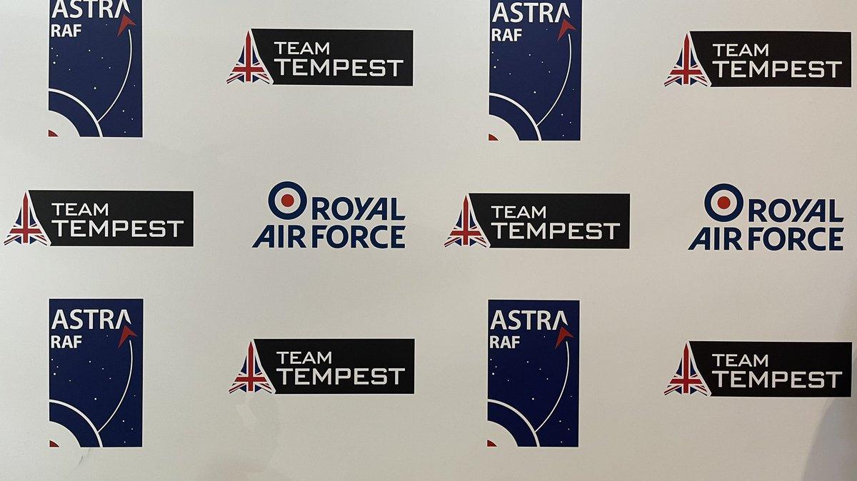 #TeamTempest at #DSEI with the @RoyalAirForce   #AvGeek #Aviation #DSEI2021