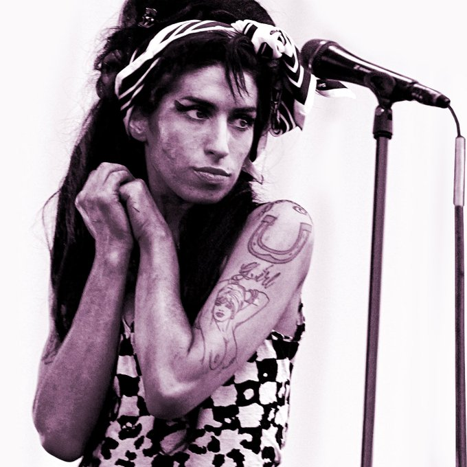 Best Wishes and Happy Birthday to Amy Winehouse, a unique and talented singer, lost but not forgotten.