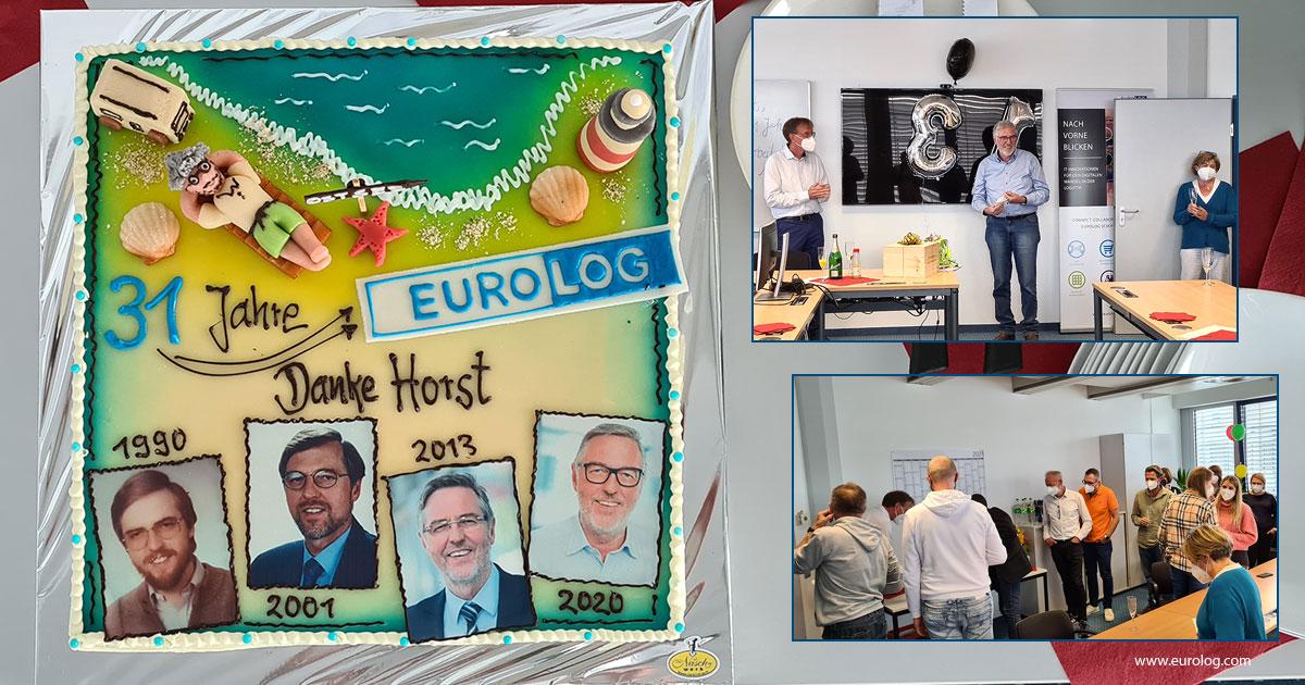 Eine Torte sagt mehr als tausend Worte! Herzlichen Dank und nur das Beste für den #Ruhestand wünschen wir unserem Horst Neumann! #Dankeschön #Thanks #31Jahre #timetosaygoodbye #allthebest #allesgute https://t.co/in35G8oqzu