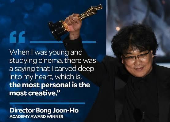 Happy Birthday Bong Joon-ho