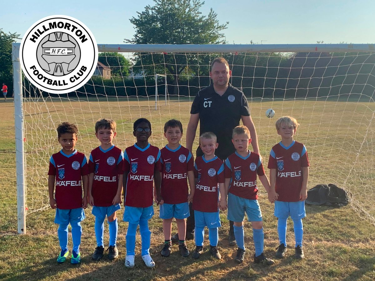 ⚽️How smart do the Hillmorton Football Club Under 6's look in their new kit? This team of young stars is managed by our Creative Manager, Carl. We're proud to sponsor the team and support grass roots football. Good luck boys!