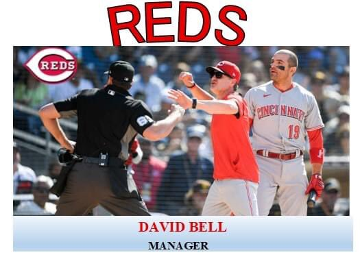 Happy 49th birthday to Reds manager David Bell who still manages to get tossed at a good rate even with replay.