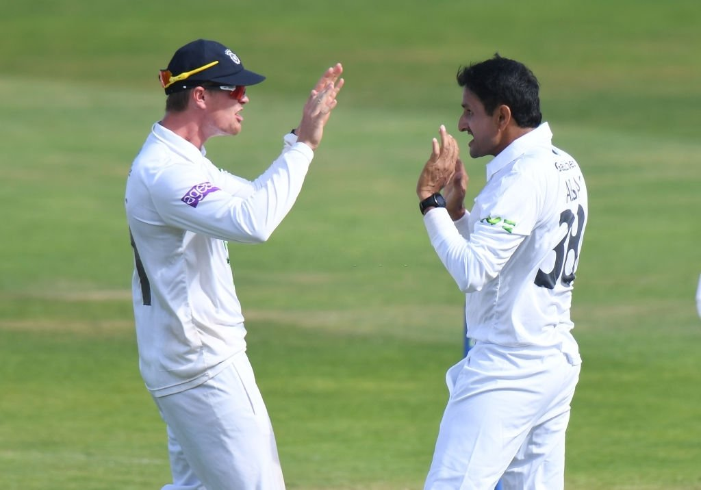 Mohammad Abbas stars with 5fer for Hampshire in the County Championship