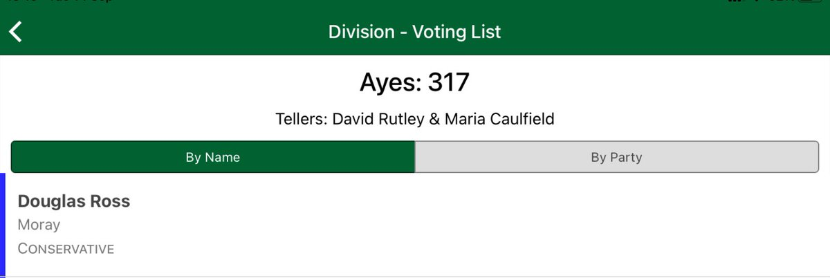 @murrayf00te Definitely in the House of Commons, as he voted. Feels very wrong for Douglas Ross to take advantage of the Scottish Parliament's remote participation when Westminster has dismantled their virtual proceedings.