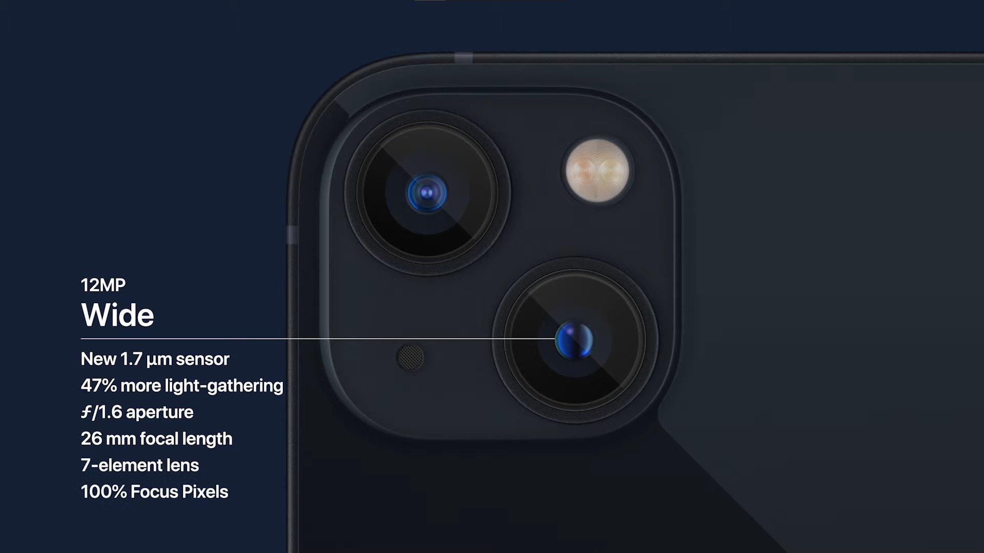 iPhone 13 Primary Camera