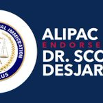 Image for the Tweet beginning: Thank you ALIPAC for endorsing