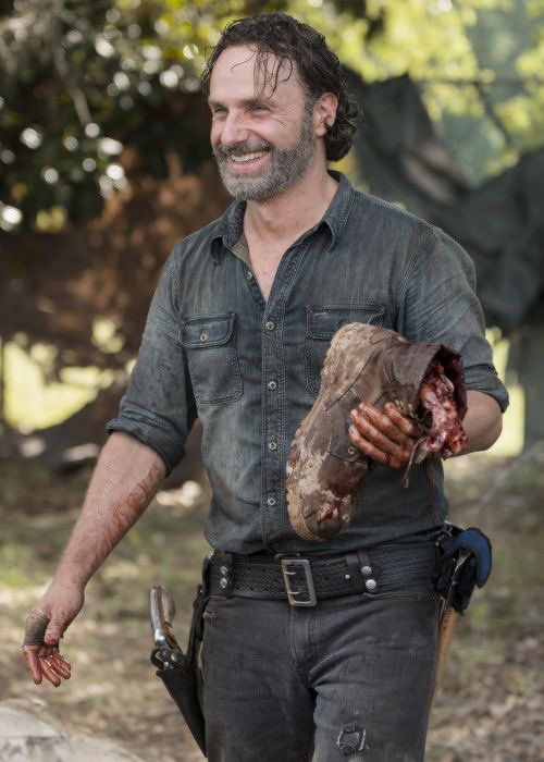 Happy birthday to the one and only andrew lincoln !!! king of the walking dead