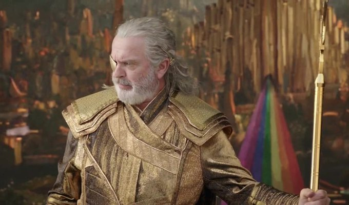 Happy 74th birthday to Mr. Sam Neill!  Just learned about his cameo in \Thor: Ragnarok\