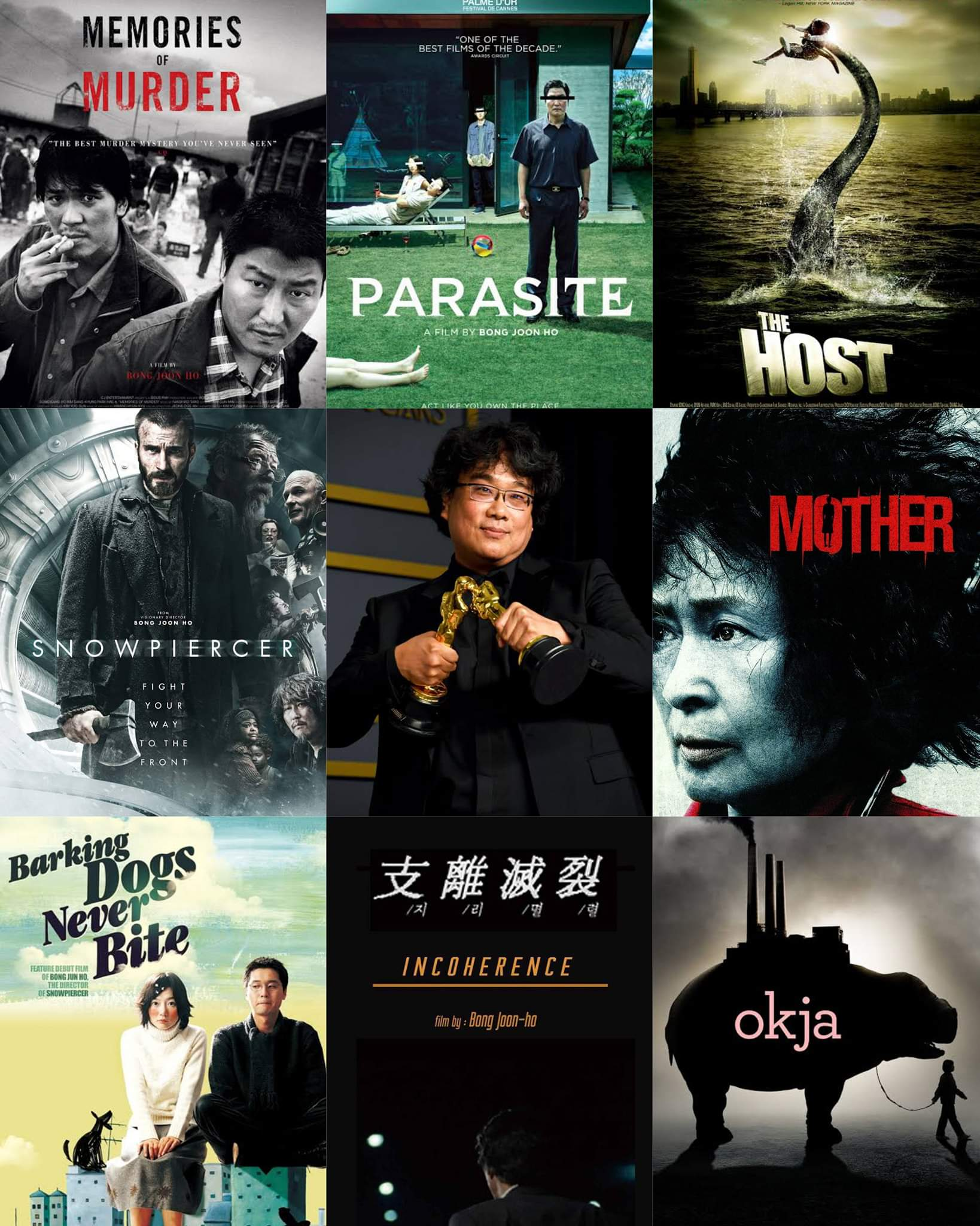 Happy 52nd birthday to one of the finest directors working today - Bong Joon-ho