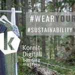 Image for the Tweet beginning: Kornit Digital commits to huge