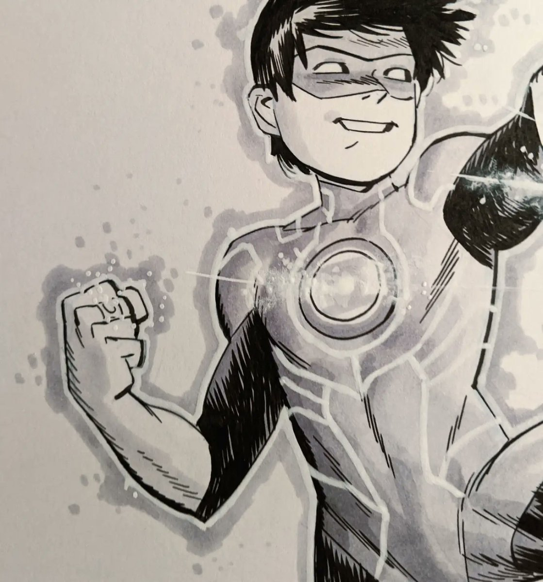 Tai Pham Green Lantern commission complete. Thanks to @arjayemmm for the request, had a ton of fun with this one. More to come as well!