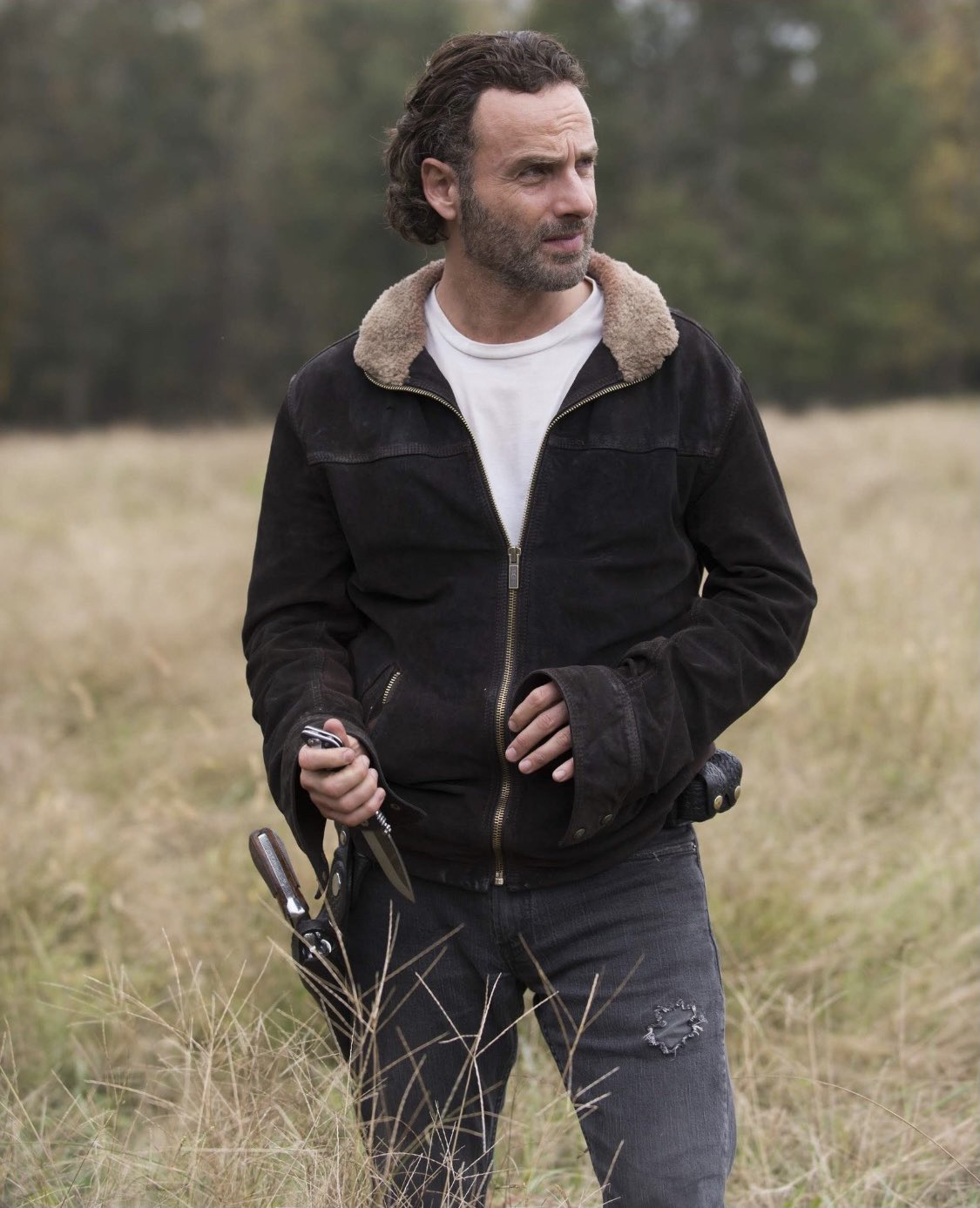 Happy birthday, Andrew Lincoln! Can t wait to see you back in TWD universe as Rick Grimes. Have a nice one.