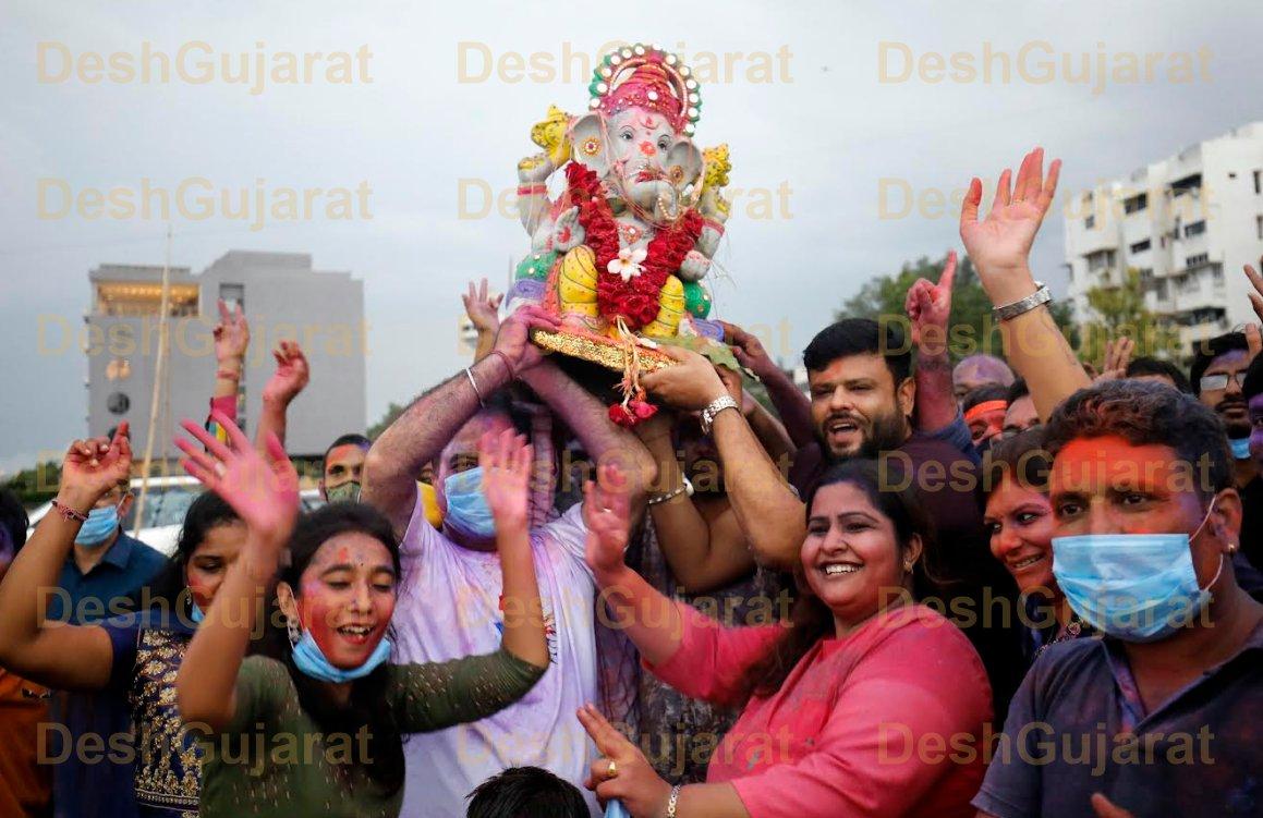 In pictures: Ganesh Visarjan festivities in Gujarat