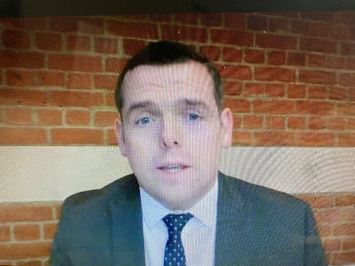 Was Douglas Ross asking his questions of the FM from Westminster today? Remote working was set up for MSPs during Covid, not to let Two Jobs Ross vote in person at Westminster after Rees-Mogg axed remote working down there. If so, this is pretty contemptuous of both parliaments.