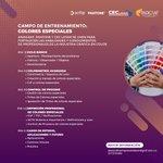 Image for the Tweet beginning: Participe en el próximo #CampoDeEntrenamiento