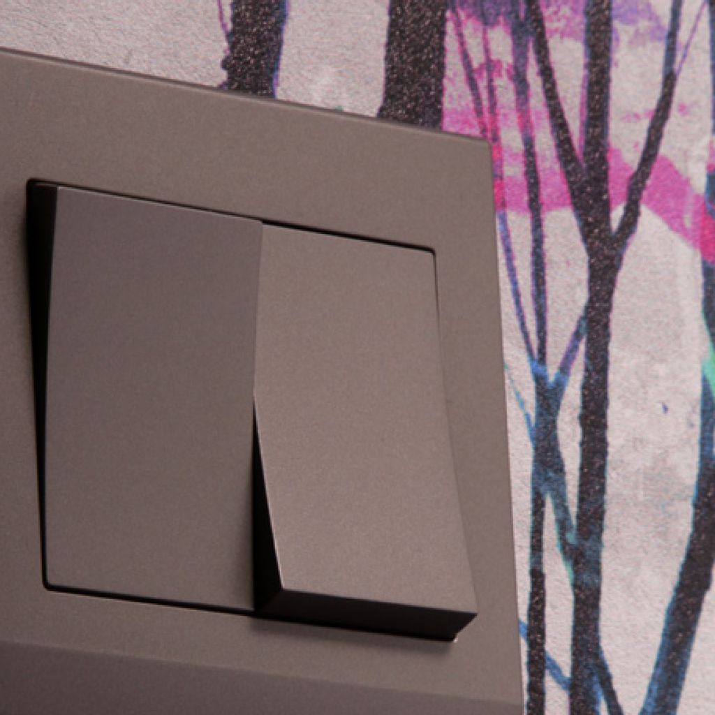 Keep things simple with our Simplicity range. Available in Mid Grey and White. Go with a minimalist theme or balance a busy wallpaper with subtle switches. retrotouch.co.uk/simplicity.html #lightswitches #switches #minimalism #simple #minimalist #interiordecor