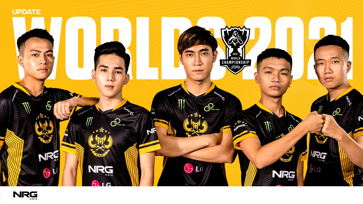 Unfortunately, GAM is unable to represent the #NRGFam at Worlds due to COVID restrictions, ending our 2021 season. We thank you for the support this season and can't wait to show the world what the team has been working on over the past year soon.