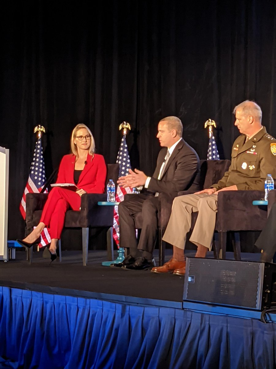During the Intelligence and National Security Summit, Deputy Director Paul Abbate joined intelligence community leaders to discuss current national security threats. He said that combating terrorism is still one of the #FBI's highest priorities. #IntelSummit21 @AFCEA @INSAlliance