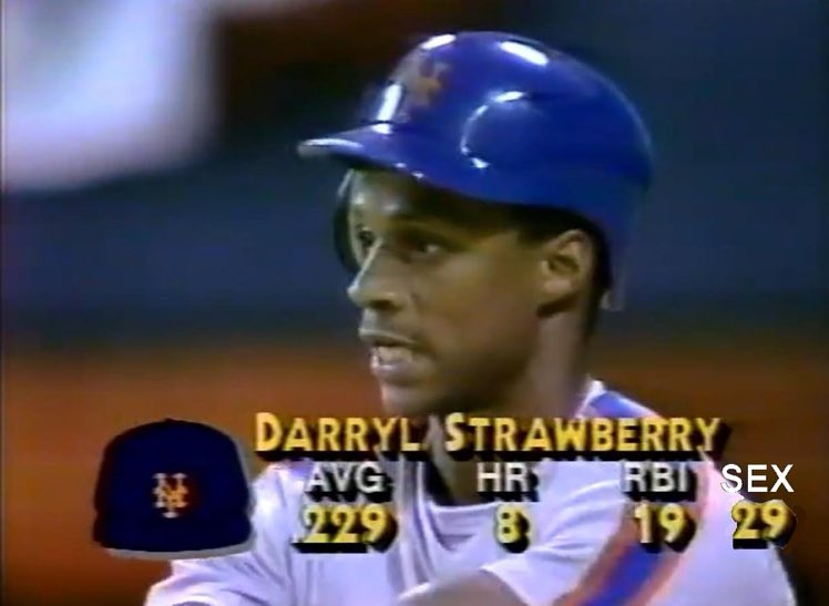"""I'm really looking forward to the '86 Mets """"Once Upon a Time in Queens"""" 30 for 30 tonight. Hoping to finally get the inside story on Darryl Strawberry leading the National League in sex between at-bats that season. https://t.co/pWi7wPoEk6"""