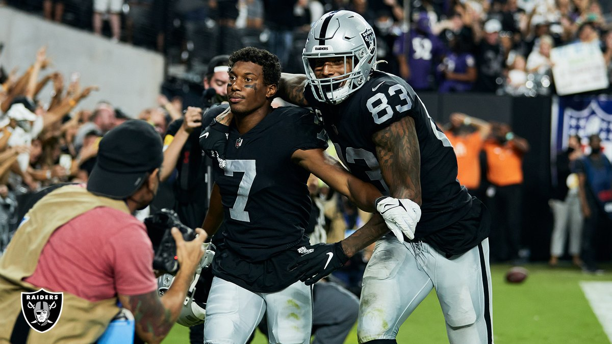 Congrats to @raiders for an amazing OT win at home! 🏈We 🖤 our 2019 Giving Tuesday supporters!#raiders #raidernation #lasvegas #MNF