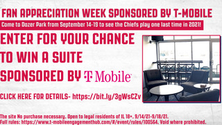 ATTENTION FANS: For our Fan Appreciation Week sponsored by @TMobile, we're giving you a chance to win a suite on September 17th or 19th!  To enter, click the link below  🔗: bit.ly/3gWsCZv  #SoundTheAlarm x @TMobile