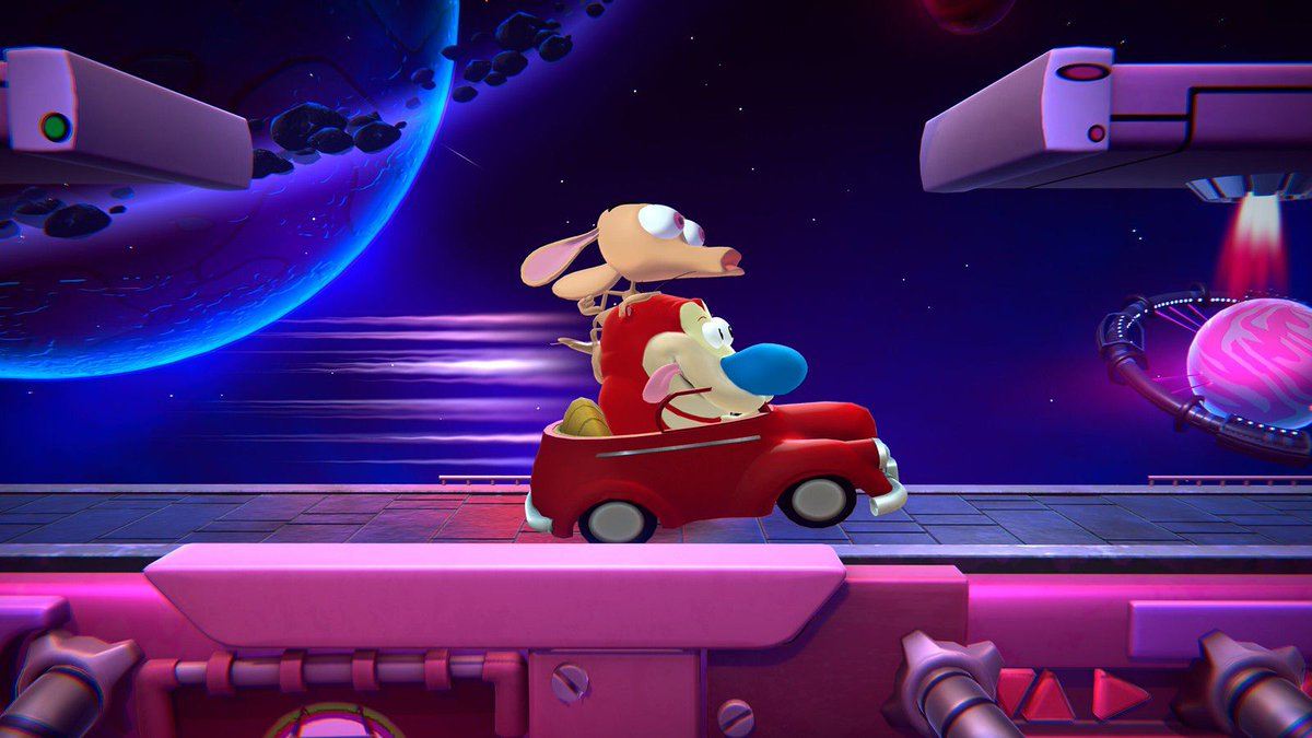 Ren and Stimpy are joining Nickelodeon All-Star Brawl as a duo