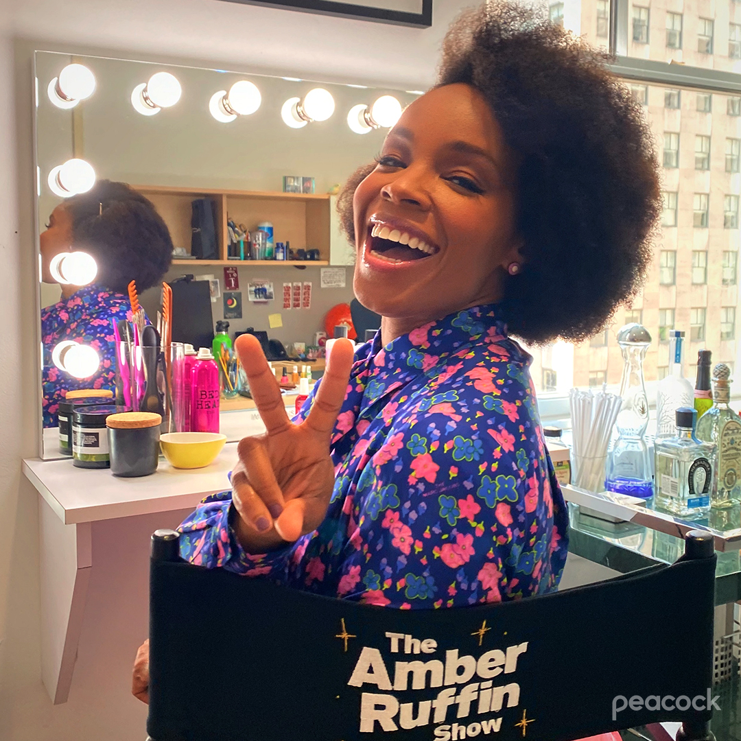 I'm 2 happy 2 keep this 2 myself. The #AmberRuffinShow is renewed for a season 2!!!! Starting October 8, get ready for more episodes, nonsense, and margaritas. YAY! 💜🥳 See you this Friday for our season finale! https://t.co/mZ6qqkSMlA