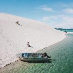 Image for the Tweet beginning: Sun ✅ Sand ✅ Boat