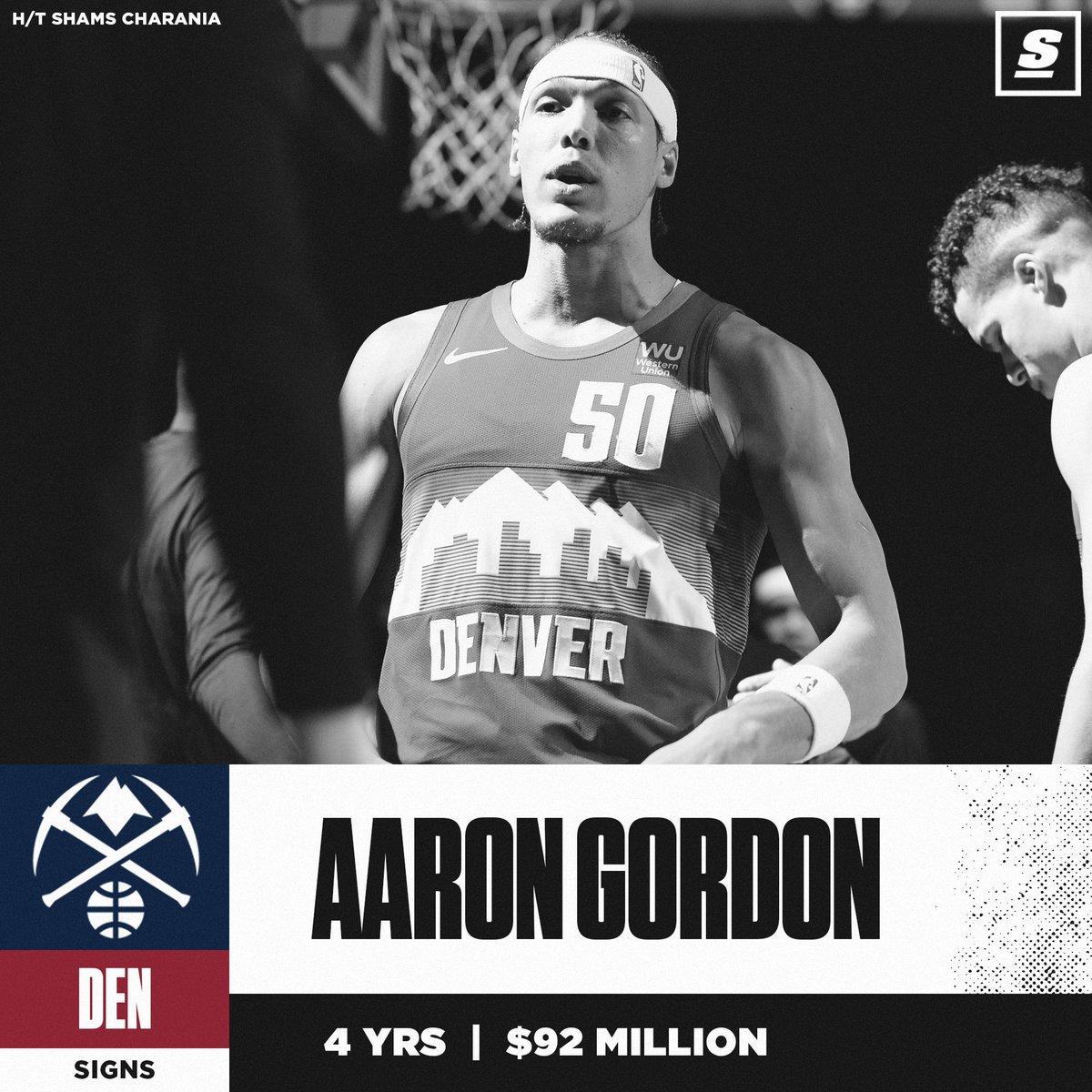 @theScore's photo on Aaron Gordon