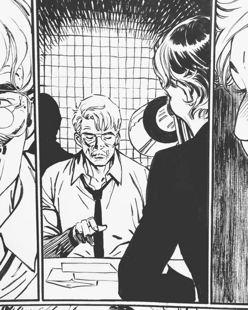 JOKER 7 is out today. Let's celebrate it with some panels of my dear James Gordon. You'll find these with awesome colors by @arifprianto.arf inside the book! #TheJoker #Joker #Gordon #CommissionerGordon #Artwork #OriginalArt #Comics #ComicbookDay #Comicb… instagr.am/p/CT0DSJIsVIo/