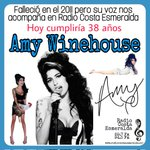 Image for the Tweet beginning: Hoy cumpliría 38 años #AmyWinehouse