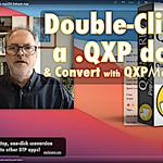 Image for the Tweet beginning: Convert #QuarkXPress_Libraries #qxl to IDML