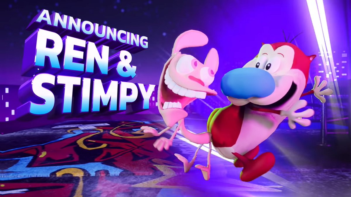 Ren & Stimpy Confirmed For Nickelodeon All-Star Brawl