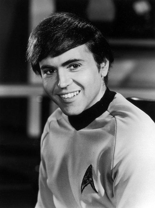 Happy Birthday to Star Trek\s Mr Chekov, Walter Koenig, who turns 85 today.