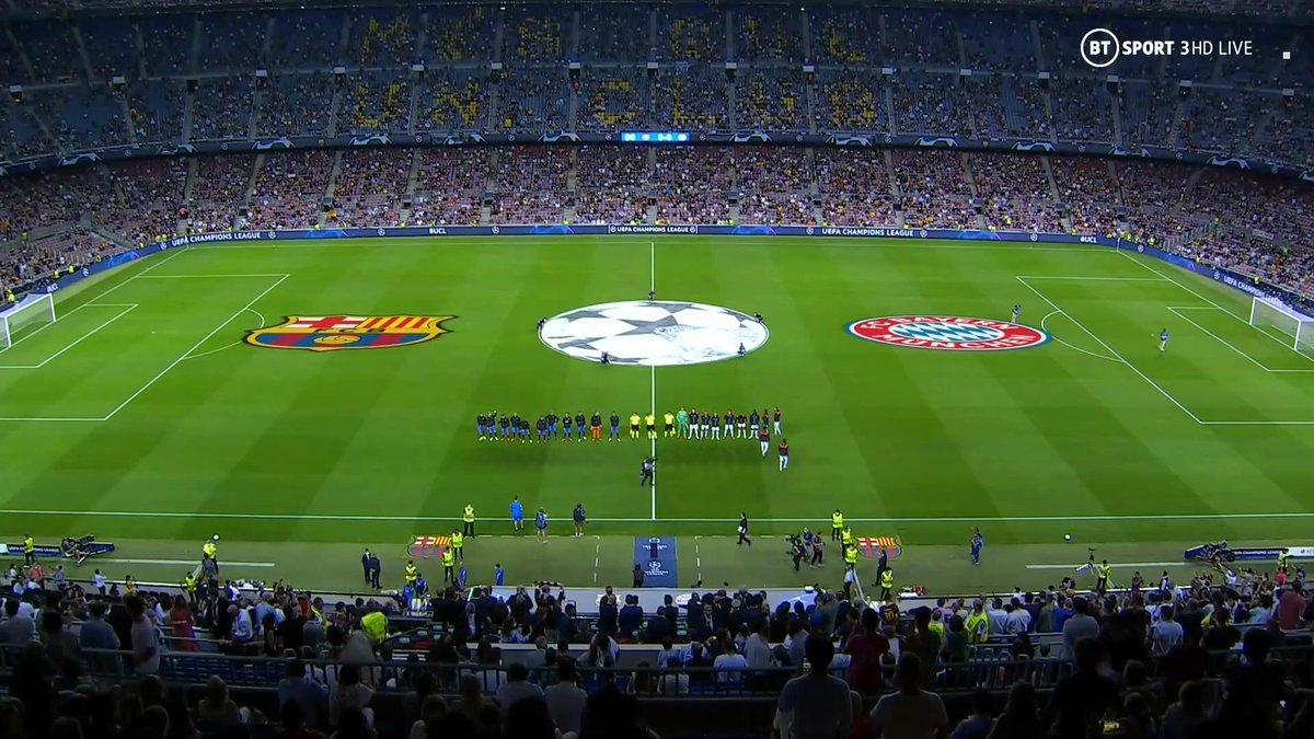 Full match: Barcelona vs Bayern Munich
