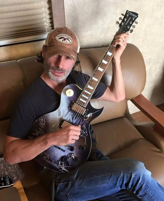 Happy birthday andrew lincoln, we love you so much!