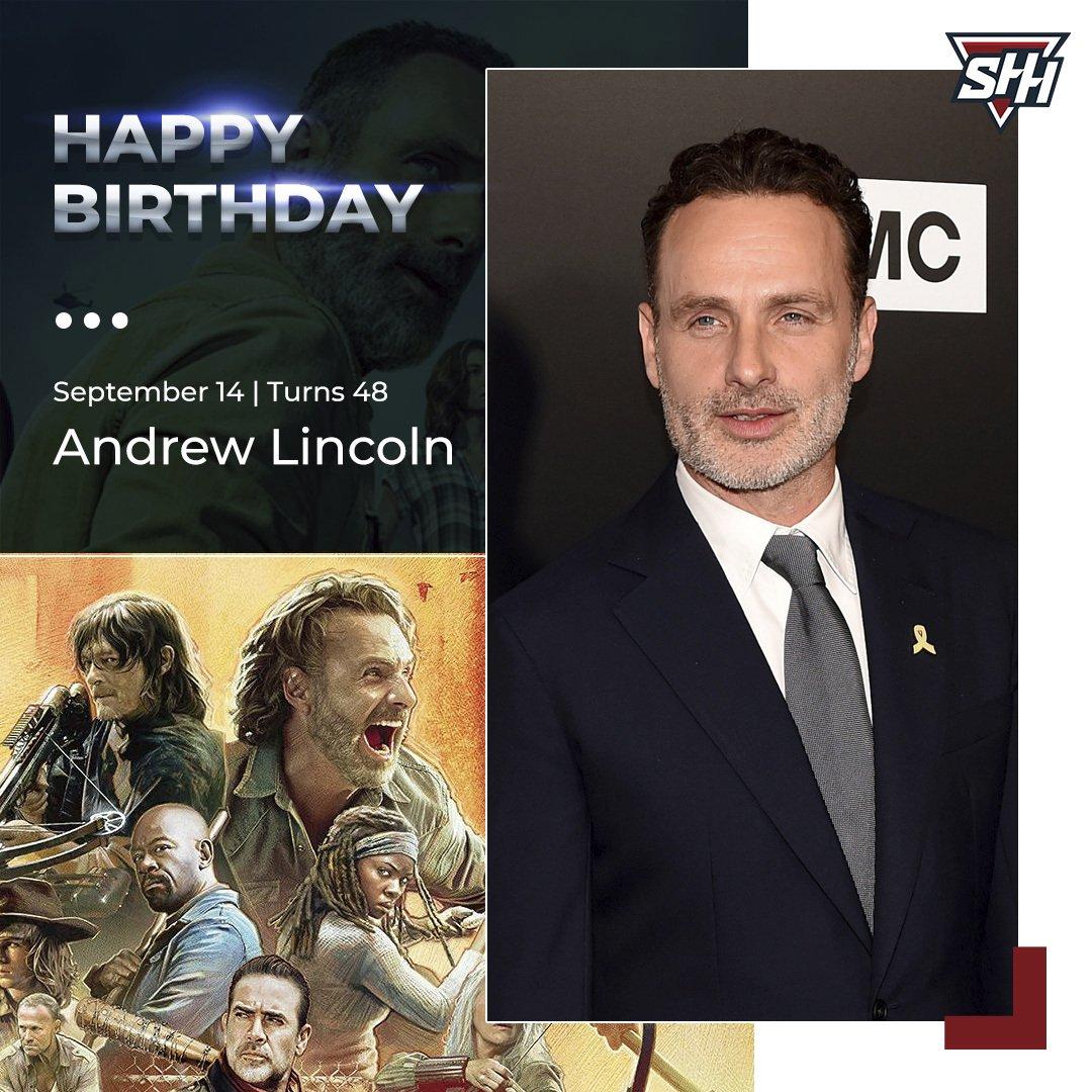 Happy Birthday to Andrew Lincoln!