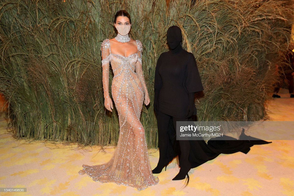 #MyCousinTookTheVaccine and went to the Met Gala with Kendall Jenner