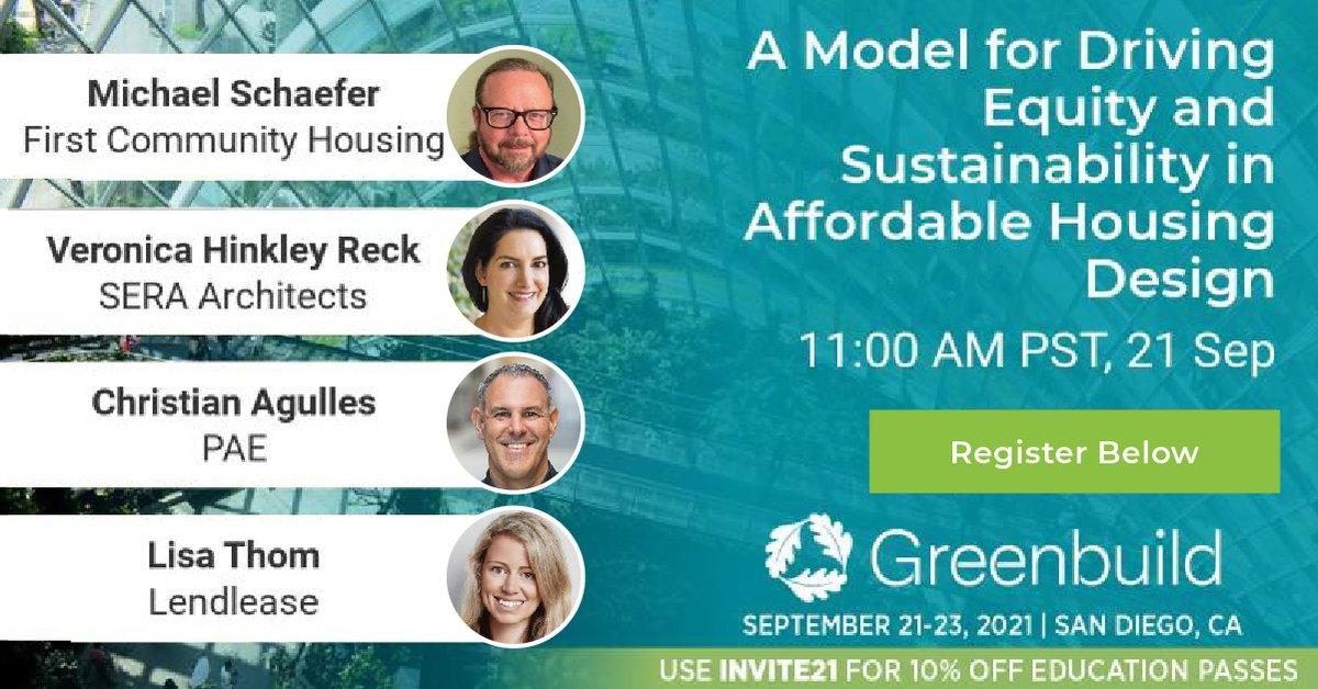 Today @Greenbuild!📢