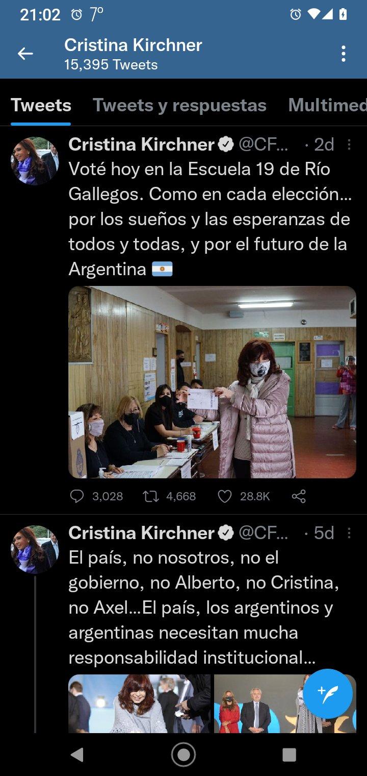 Cristina Twitter