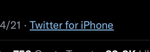 IPhone Twitter
