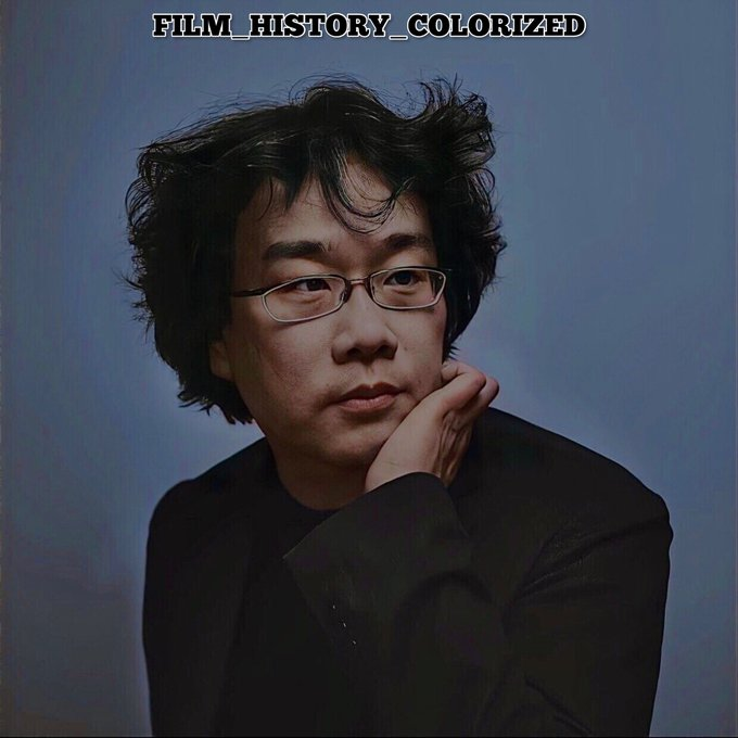 Happy birthday to Bong Joon-Ho who turns 52 today.  Colorization by yours truly.