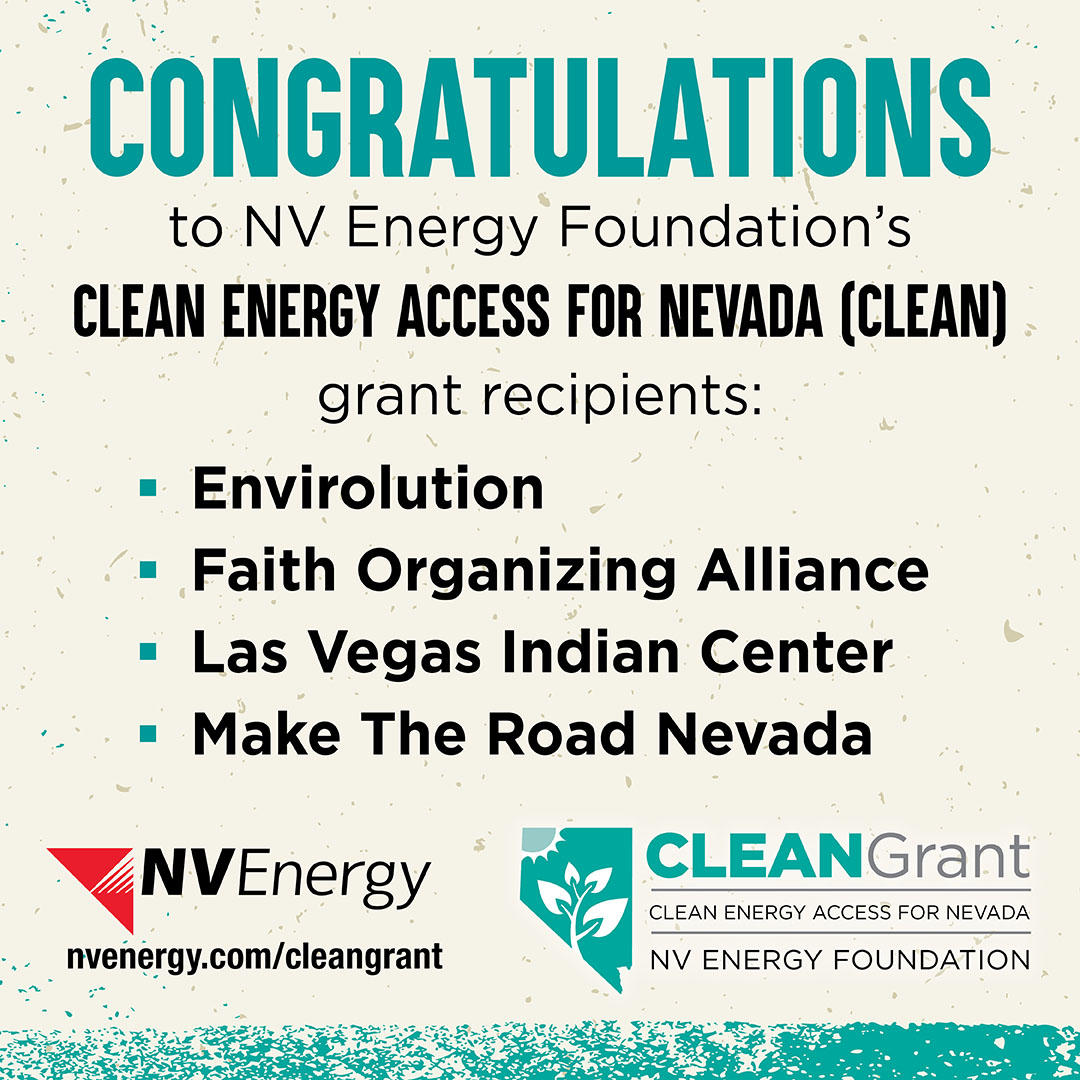 📣Thank you @NVEnergy! We are proud to partner with @maketheroadnv, @alliance_lv, and @EnvirolutionORG to deliver clean energy education & solutions to our indigenous community 🔆🌱 https://t.co/y51gO3FL21