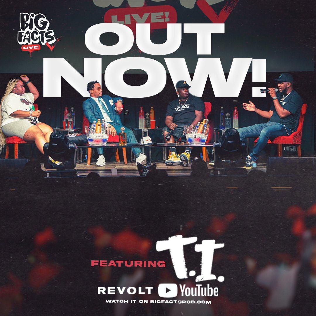 Watch @Tip On A New Episode of @BIGFACTSPOD @revolttv Link: youtu.be/6zy4kPwNRE8