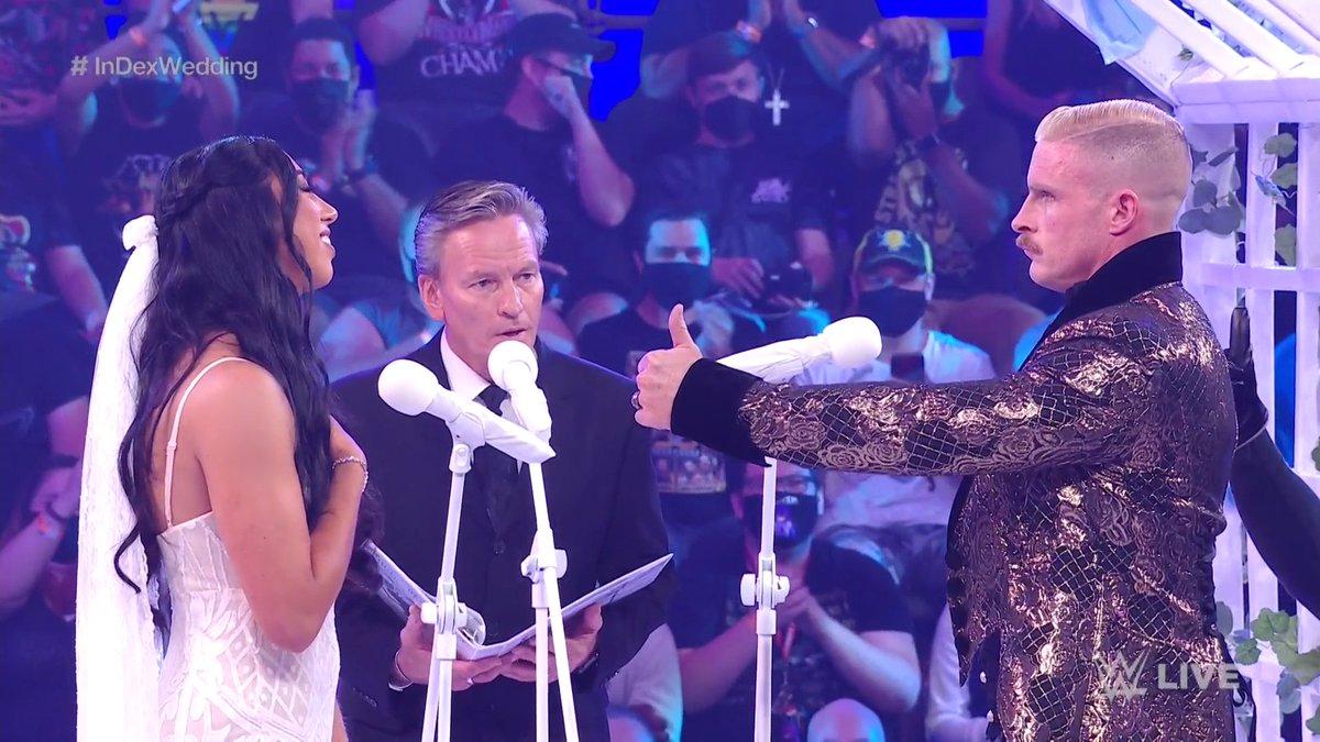 @WWE's photo on #InDexWedding