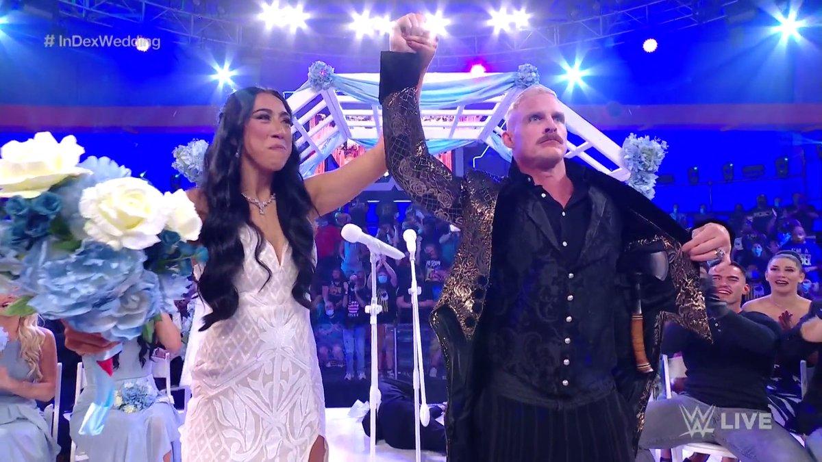 @WWENXT's photo on #InDexWedding